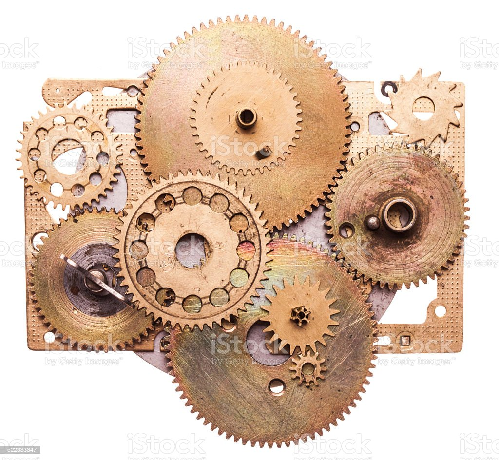 Steampunk device stock photo