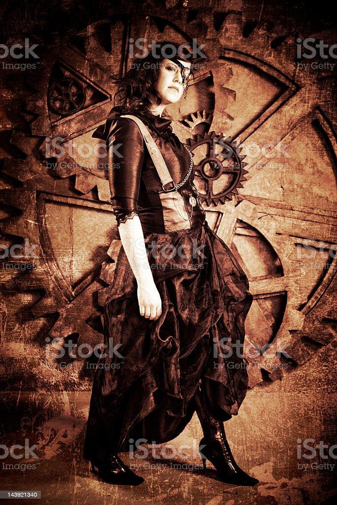 Steampunk Fashion stock photo