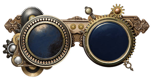steampunk glasses - steampunk stock photos and pictures