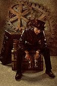 istock Steampunk Mad Hatter 143918493