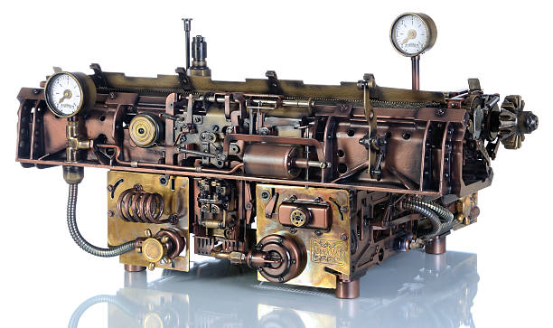 Steampunk Mechanismus. – Foto