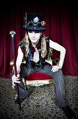 istock Steampunk Portrait 471319759