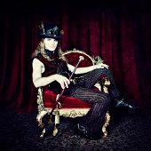 istock Steampunk Portrait 487538531