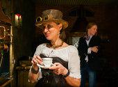 istock Steampunk stile make coffee 169998793
