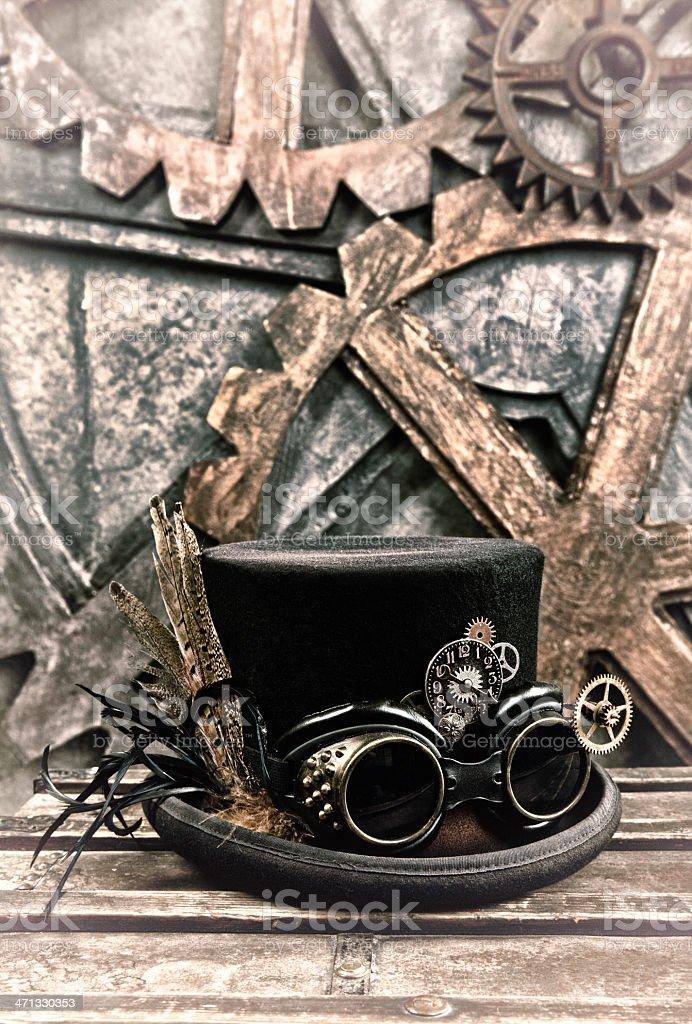 Steampunk Still Life stock photo