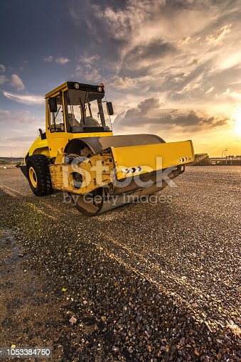 Heavy machinery for construction work