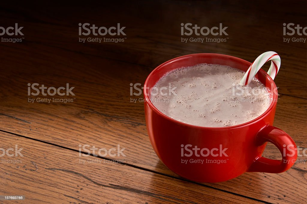Steamy Hot Chocolate royalty-free stock photo