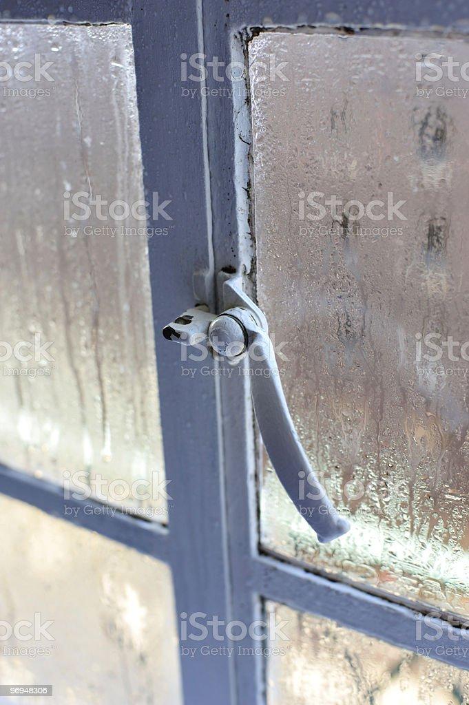 Steamy window royalty-free stock photo