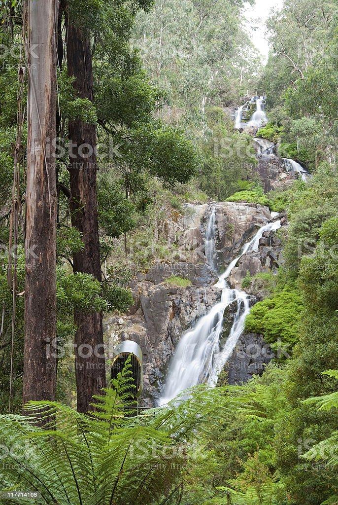 Steavenson's Falls royalty-free stock photo