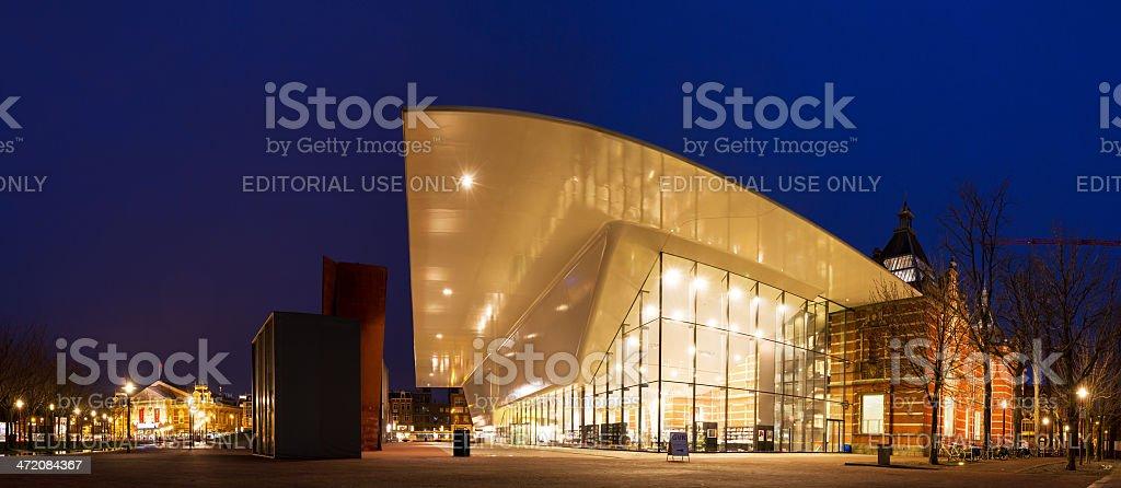 Stedelijk museum panorama stock photo