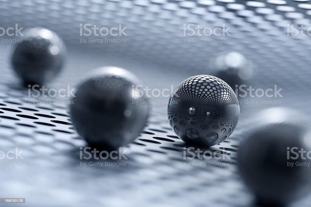 Steel Abstract stock photo