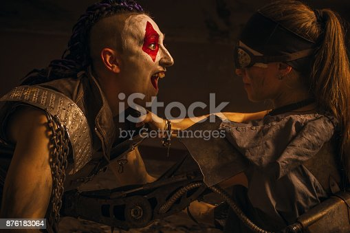 1050855372 istock photo Steel against madness 876183064