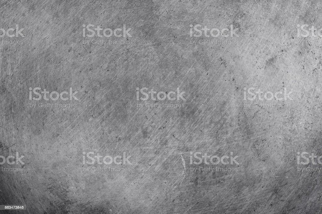 fond de texture d'aluminium en acier, rayé sur panneau en acier inoxydable. photo libre de droits