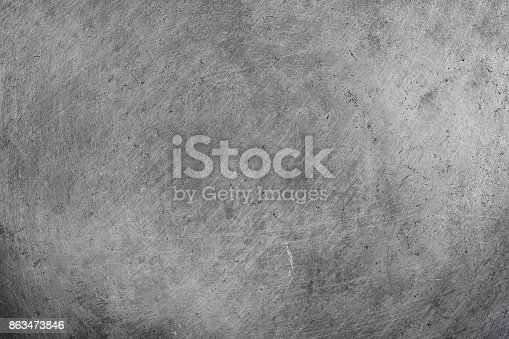 istock steel aluminium texture background, scratched on stainless panel. 863473846
