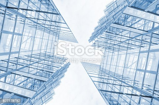 istock Steel and glass finance building 872779792