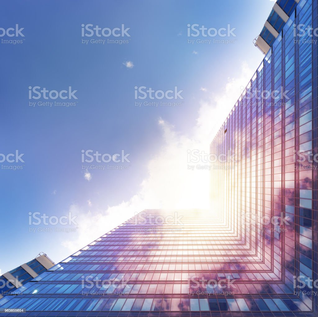 Steel and glass finance building - Royalty-free Abstract Stock Photo