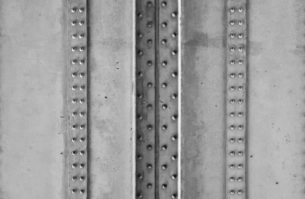 Stahl und Nieten Konstruktion einer Brücke - Industrielles Design – Foto