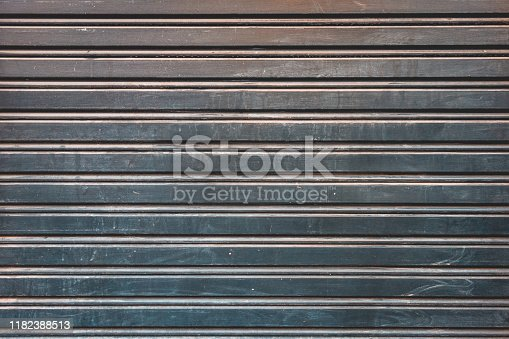 636061068 istock photo steel background facade in industrial style 1182388513