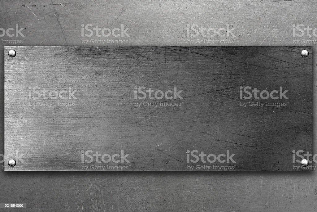 Fond en acier  - Photo