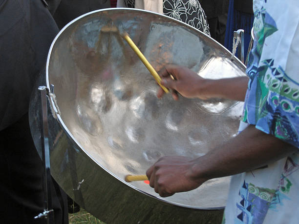 Steel Band stock photo