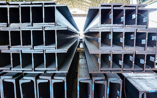 Steel bars Nahaufnahme Hintergrund – Foto