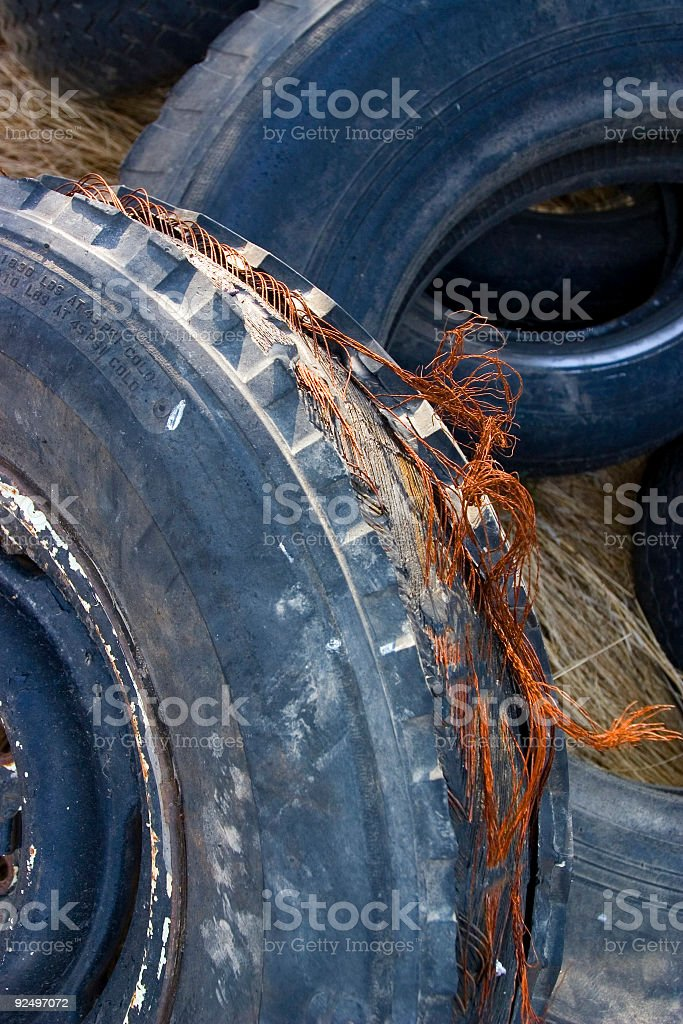 Steel Belted  Radials royalty-free stock photo