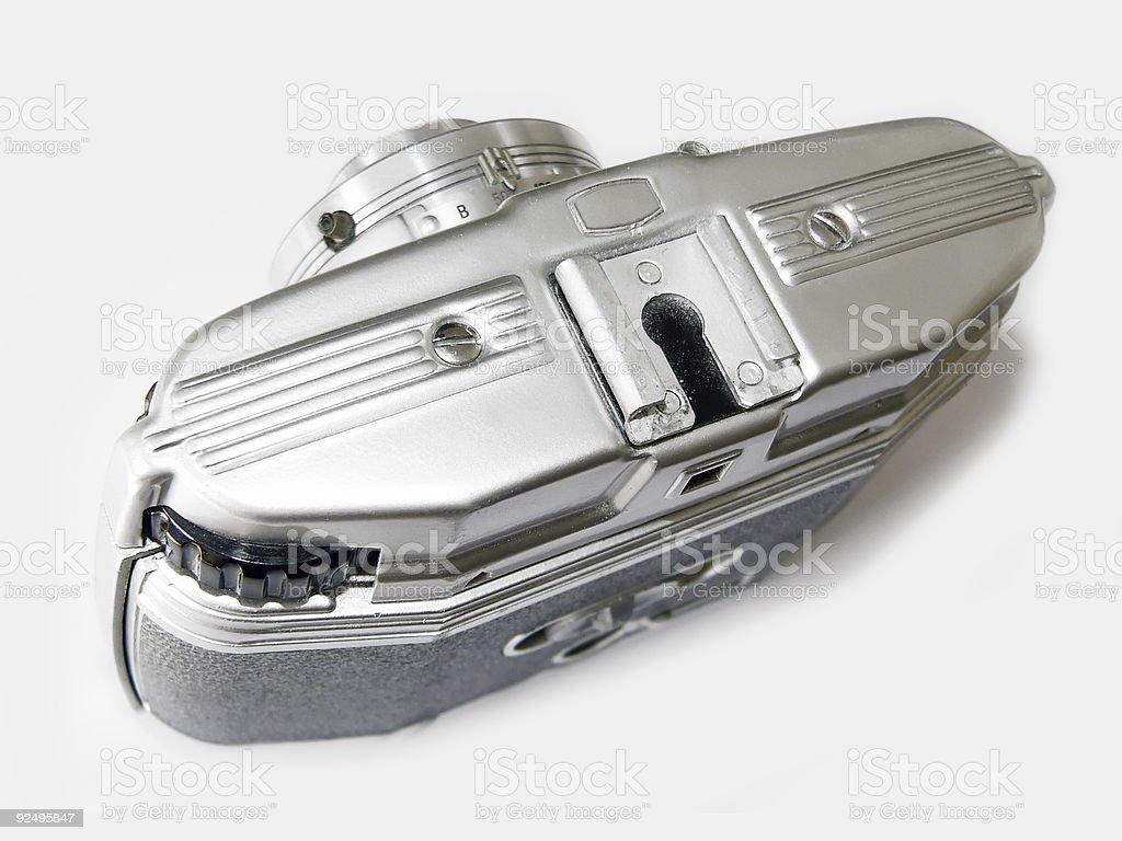 Steel camera royalty-free stock photo