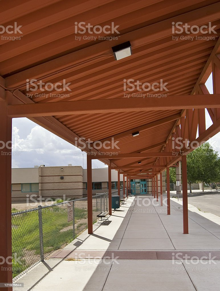 Steel Canopy royalty-free stock photo