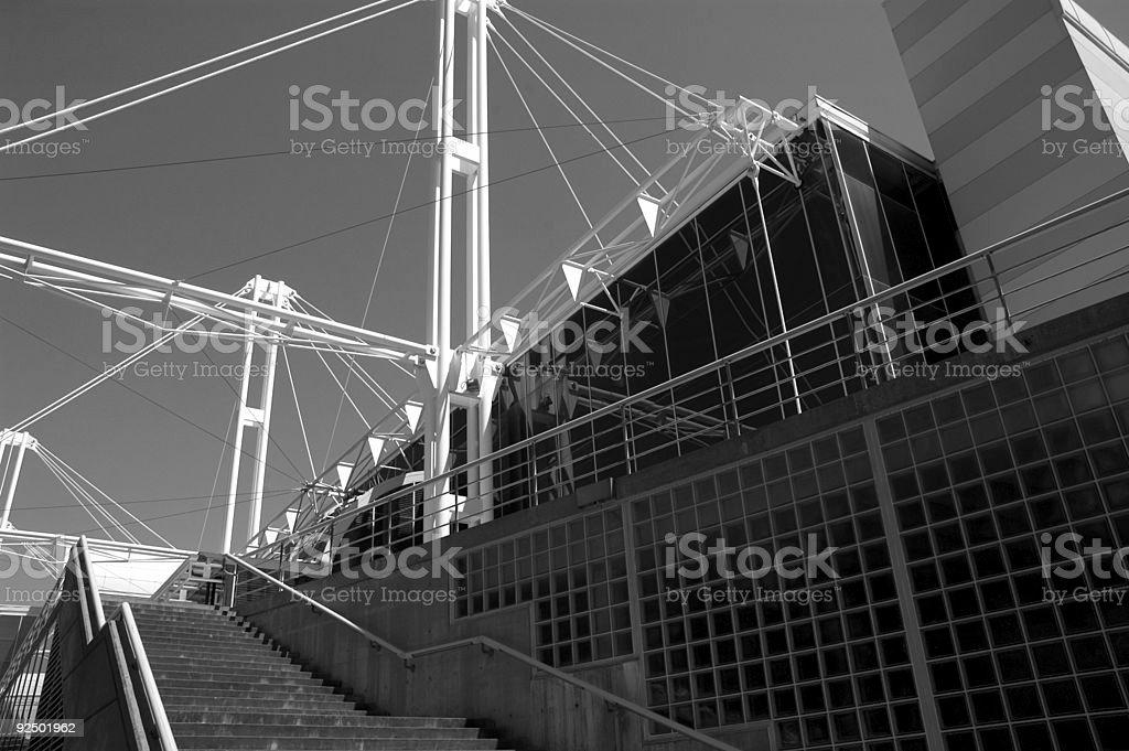 Steel & Concrete stock photo