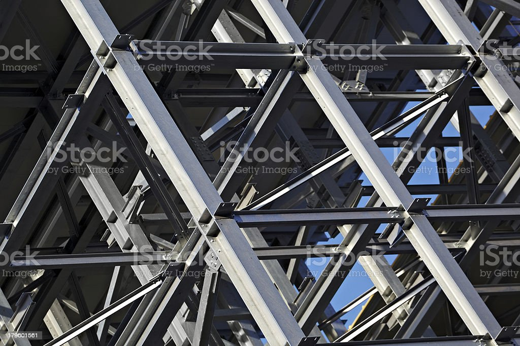 Steel Construction Detail royalty-free stock photo