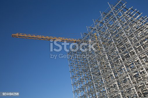 istock Steel Construction Site 924494258