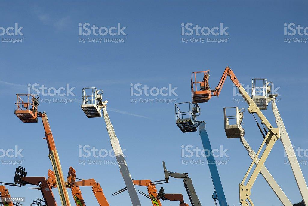 Steel Crop royalty-free stock photo
