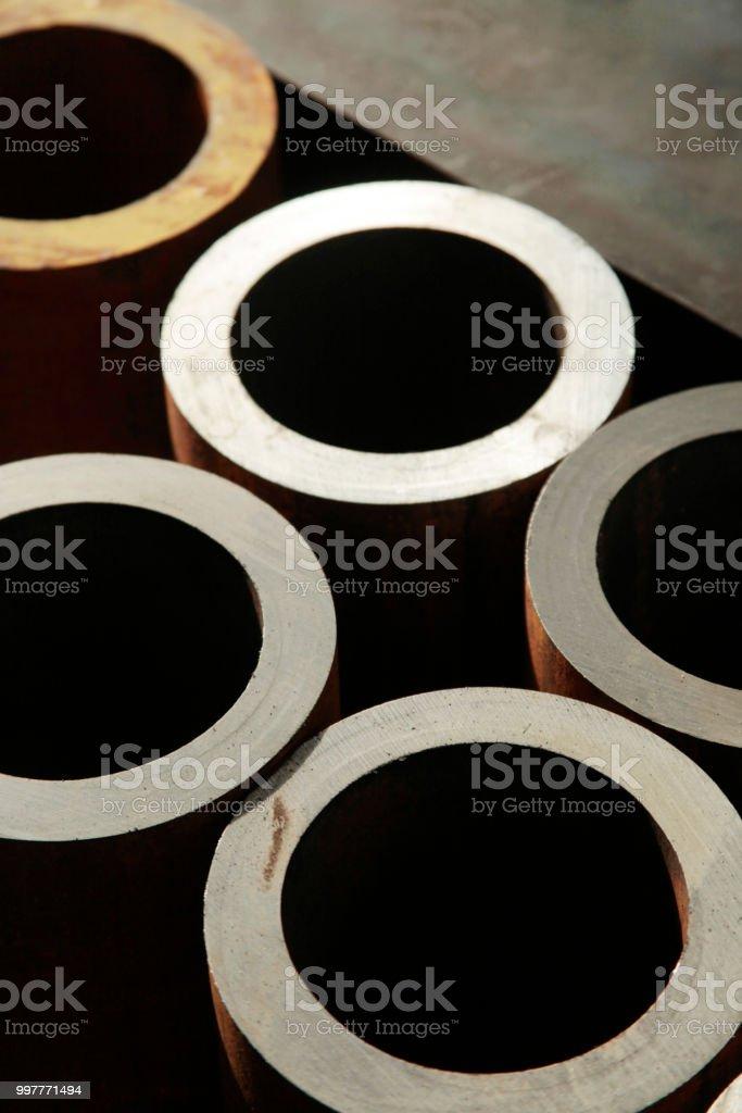 steel cylinder background