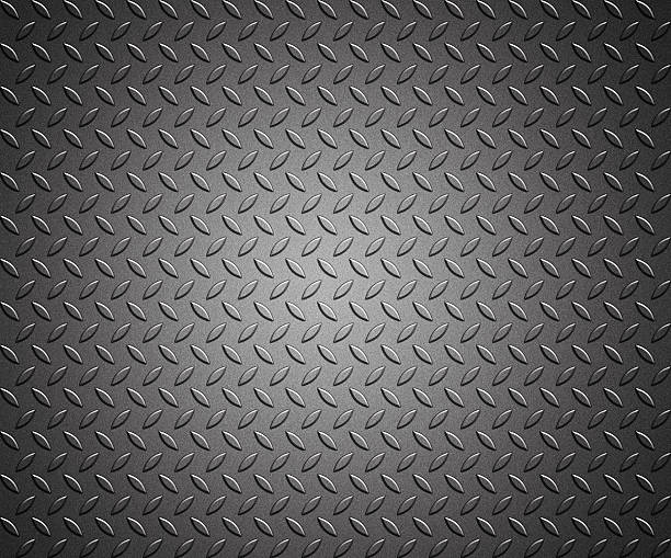 steel diamond plate texture background, metal plate - diamond plate background stock photos and pictures