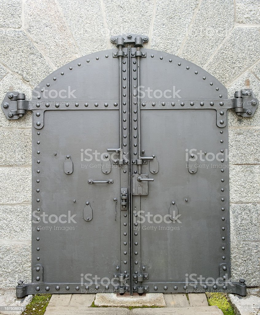 Steel Door From A Fort Pictures Images and Stock Photos & Royalty Free Steel Door From A Fort Pictures Images and Stock ...