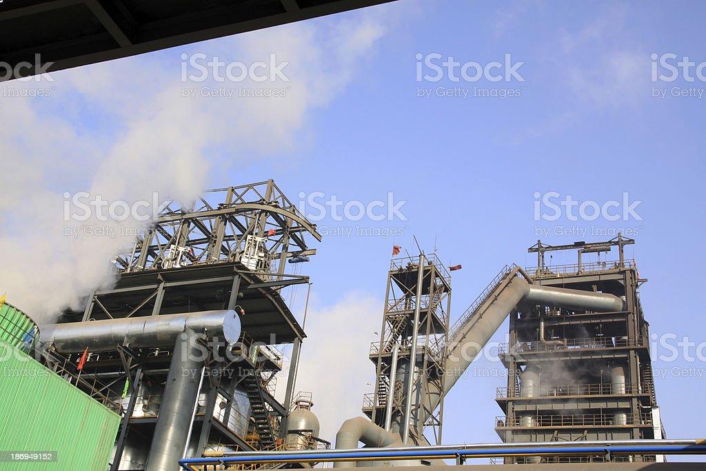 steel enterprise production equipment royalty-free stock photo