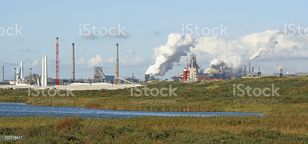 Steel factory # 5 royalty-free stock photo