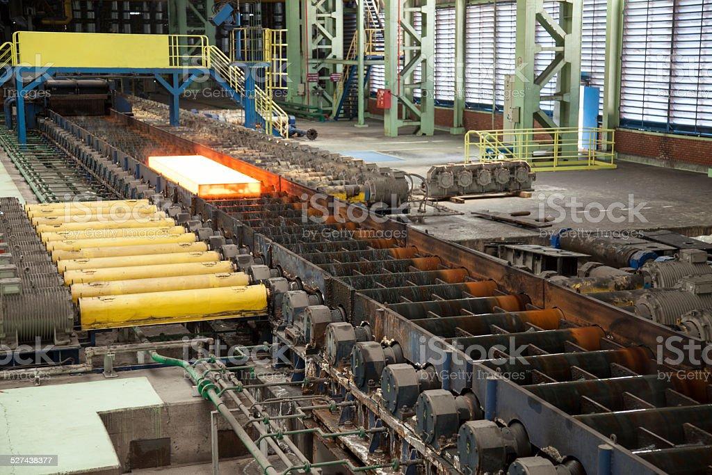 Steel Factory stock photo