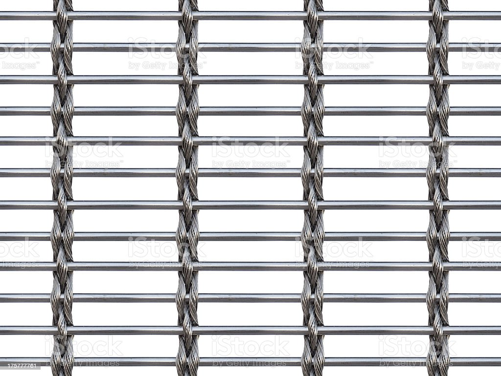 Steel Fence Bars Woven Wire Seamless Background Stock Photo & More ...