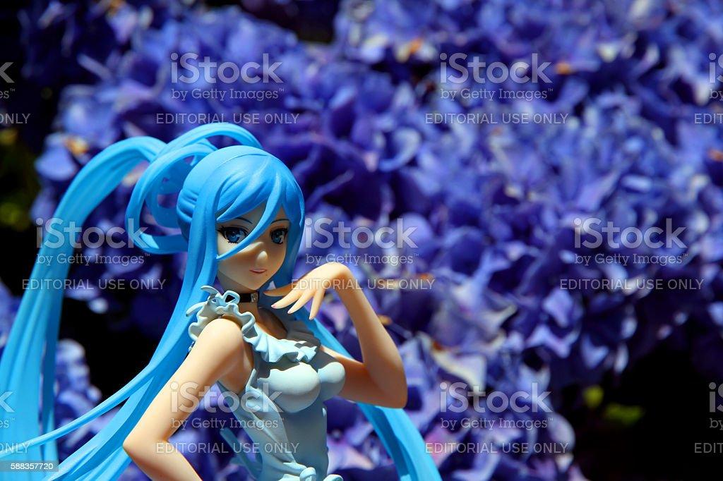 Steel Flowers stock photo