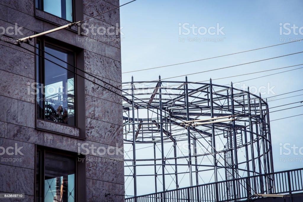 Marco De Acero Estructura En Berlín - Fotografía de stock y más ...