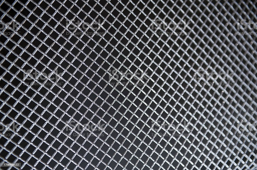 Steel grate background stock photo