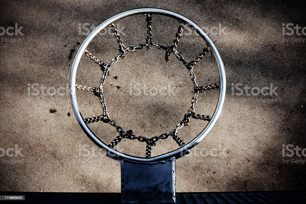 Steel Hoop stock photo