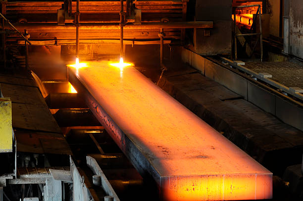 steel industry - metallurgy stock photos and pictures