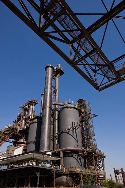 Industria del acero - foto de stock
