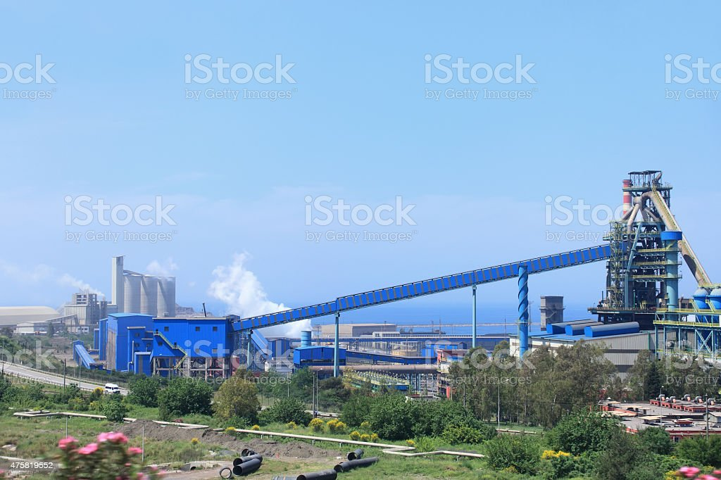 Steel Industry stock photo