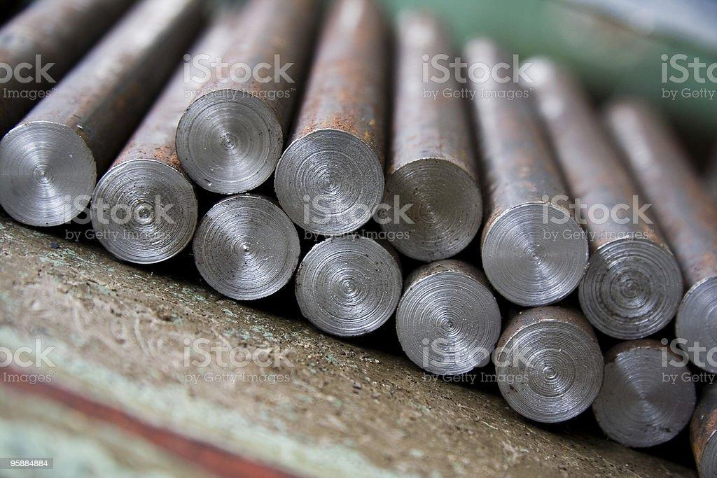 steel ingot royalty-free stock photo