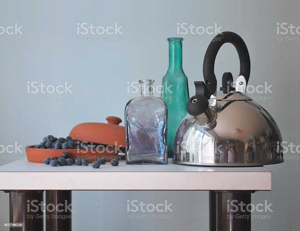 Steel life stock photo