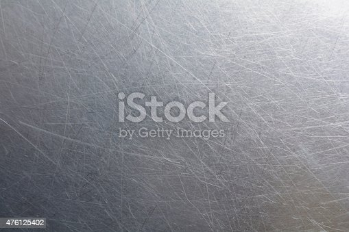 istock Steel Metal background texture 476125402