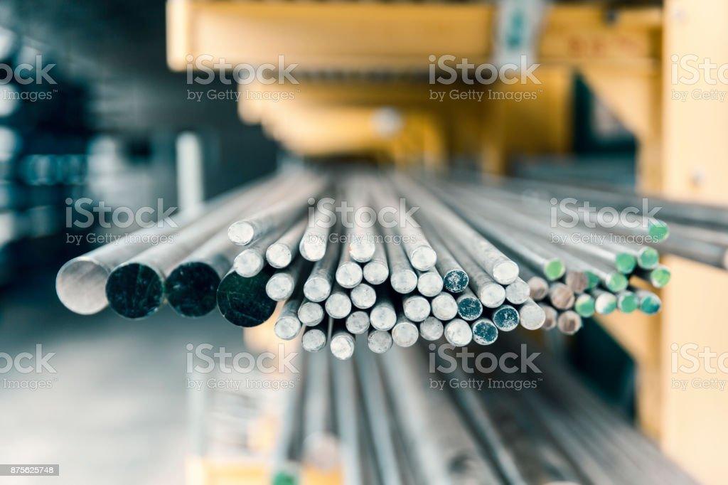 Stahl Metall-Stangen – Foto